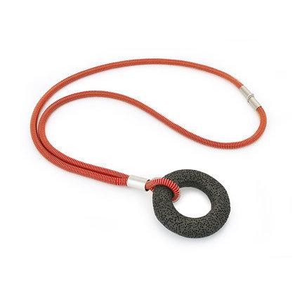 Addison Necklace Orange Dark