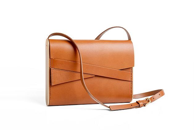 Shira Cross-Body Bag Cognac