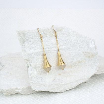 Long Dalia Earrings