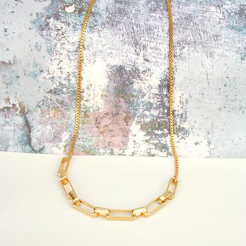 Fox Half Necklace Gold