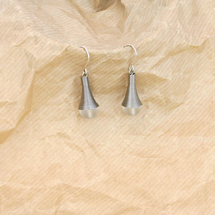 Dalia Earrings Silver