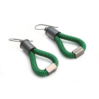 Molly Earrings Green