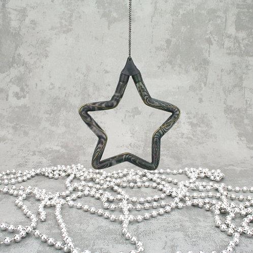 Star Ornament Black