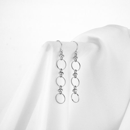 Myla Earrings Silver