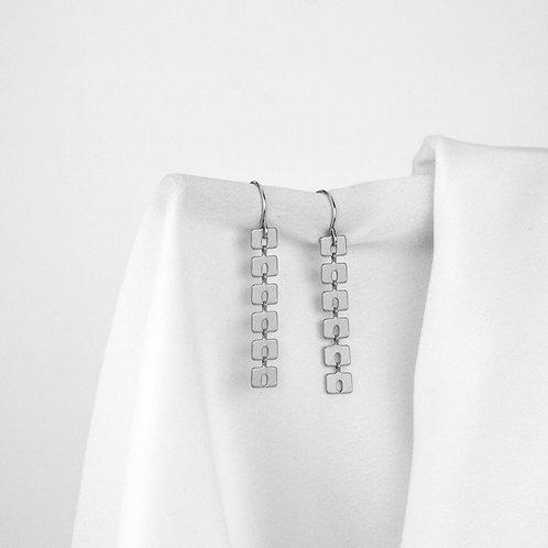 Mabel Earrings Silver