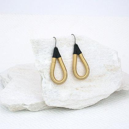 Charlie Earrings Gold