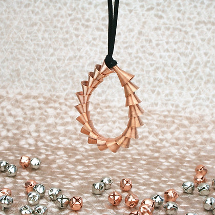 Cone Ornament Rose Gold