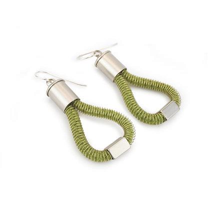 Molly Earrings Forest