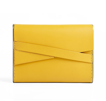 Shira Clutch Bag Yellow
