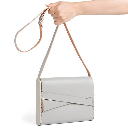 Shira Cross-Body Bag Grey