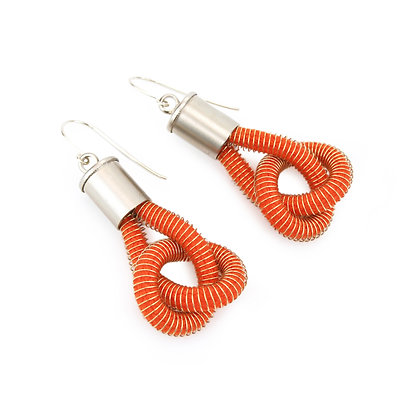 Anna Earrings Orange