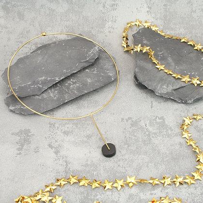 Kasia Choker Gold & Black