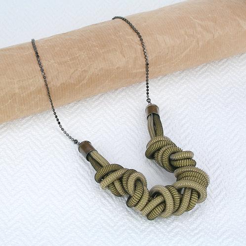 Eloise Necklace Olive