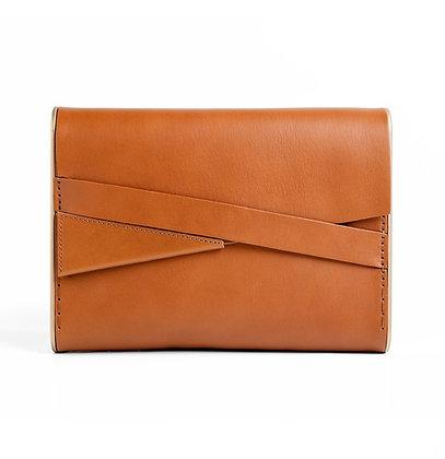 Shira Clutch Bag Cognac