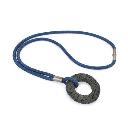 Addison Necklace Blue Dark