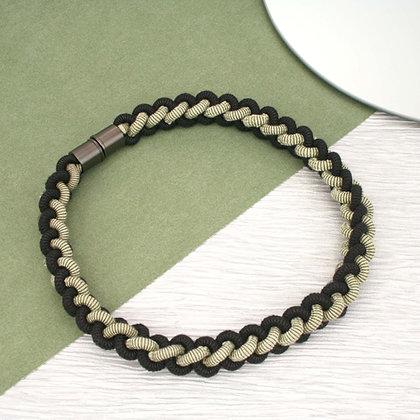 Emma Necklace Black Sage