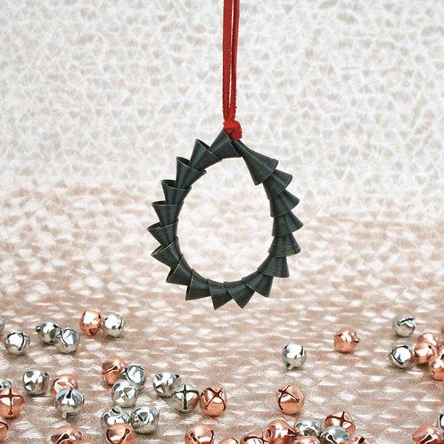 Cone Ornament Black