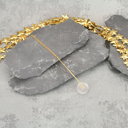 Kasia Pendant Gold & Black