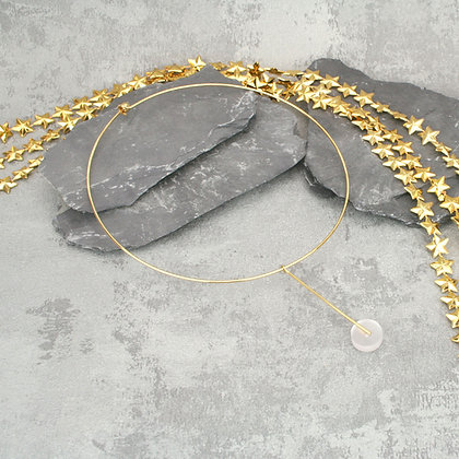 Kasia Choker Gold & Frosted