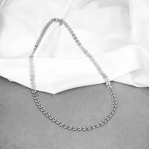 Mabel Necklace Silver