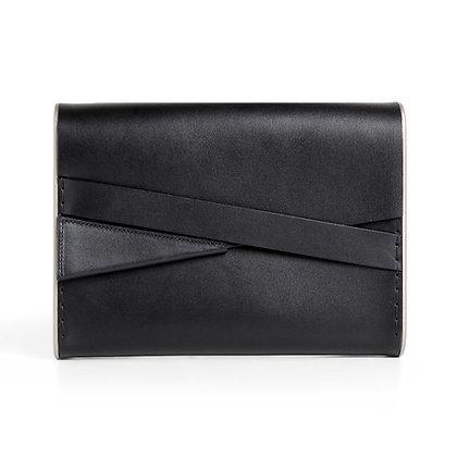 Shira Clutch Bag Black