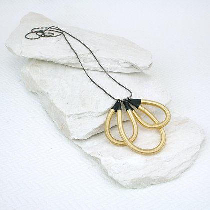 Shir Pendant Gold