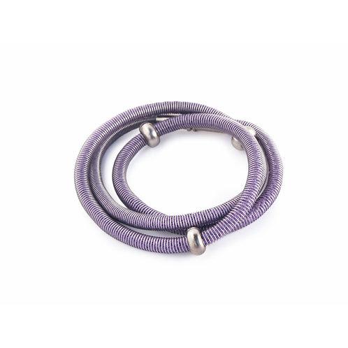 Polly Bracelet/ Necklace Purple