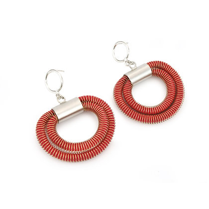 Orly Earrings Red