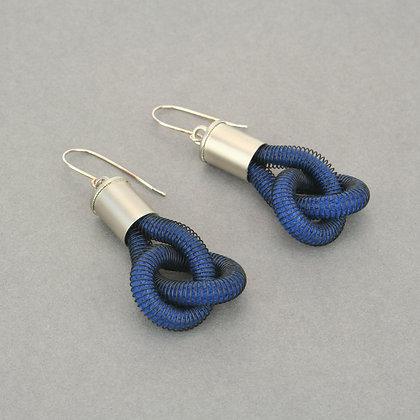 Anna Earrings Navy