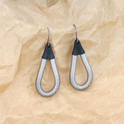 Charlie Earrings Silver
