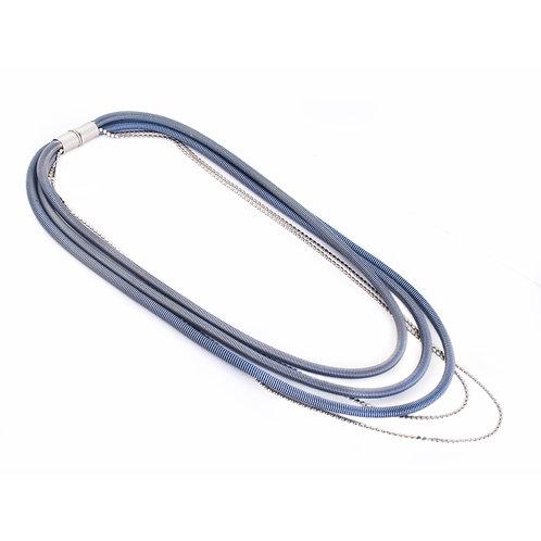 Bailey Necklace Blue