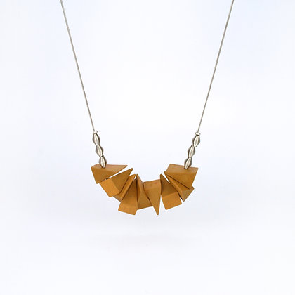 Dina Necklace Mustard
