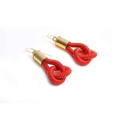 Anna Earrings Cherry