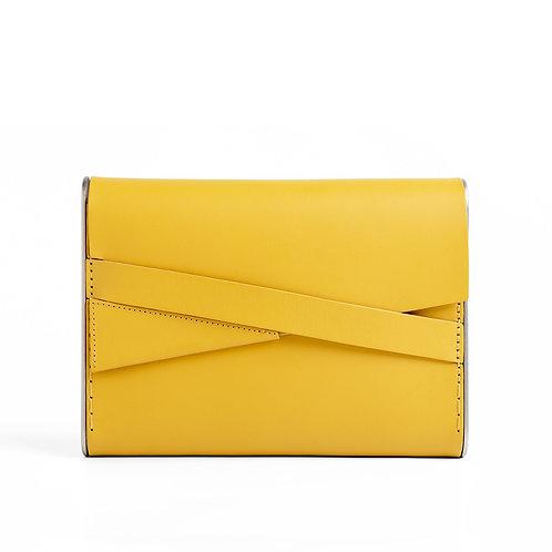 Shira Clutch Bag Yellow