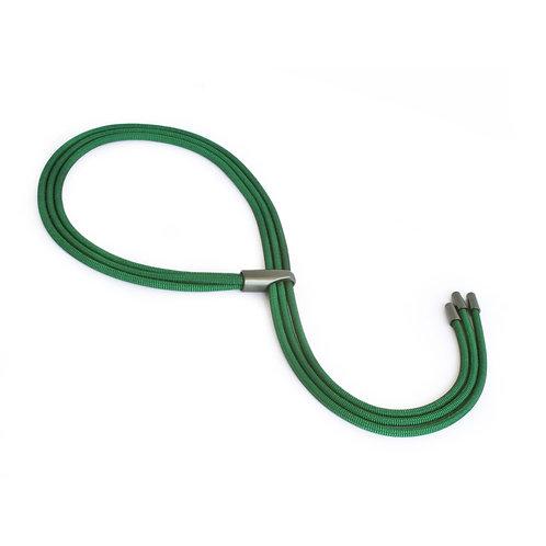 Gabreilla Necklace Green Dark