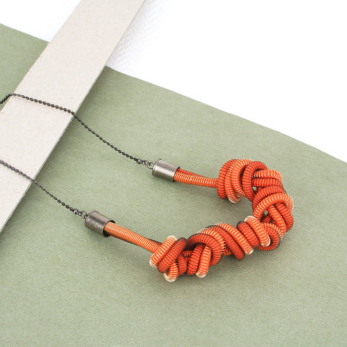 Eloise Necklace Orange