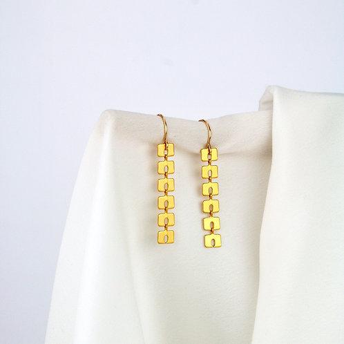 Mabel Earrings Gold
