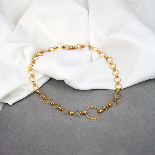Myla Necklace Full Gold