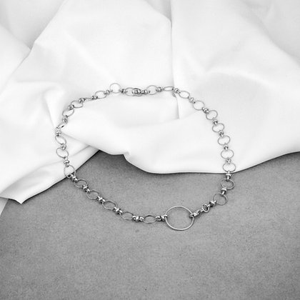 Myla Necklace Full Silver