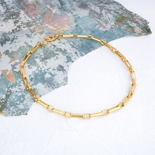 Fox Full Necklace Gold