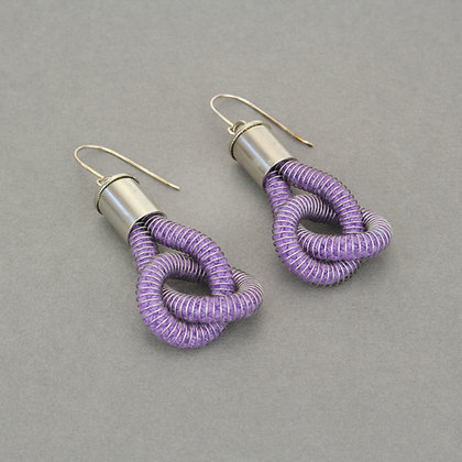 Anna Earrings Purple