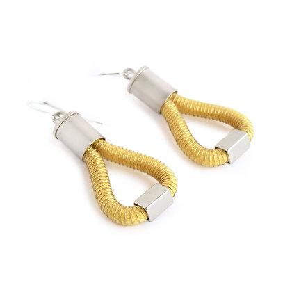 Molly Earrings Yellow
