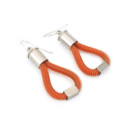 Molly Earrings Orange