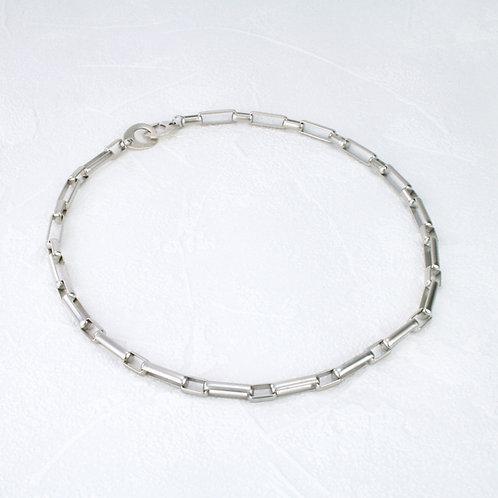 Fox Full Necklace Silver