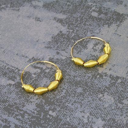 Sky Earrings Gold
