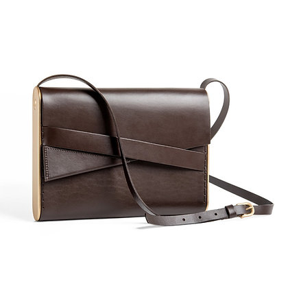 Shira Cross-Body Bag Brown