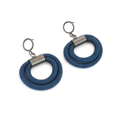 Orly Earrings Blue Dark