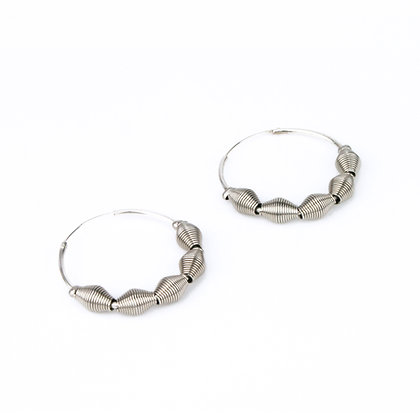 Sky Earrings Silver