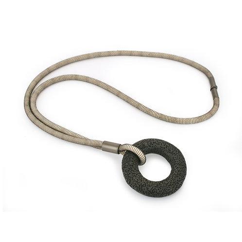 Addison Necklace White Dark