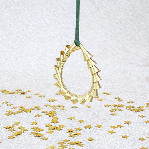 Cone Ornament Gold